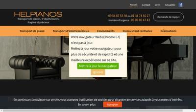 Site internet de Helpianos