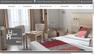 Site internet de Hotel Helvetique