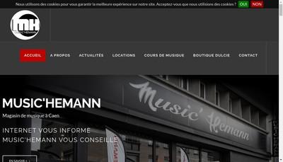 Site internet de Pianos Loc