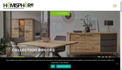 Site internet de Hemisphere Sud Clomat Rouen