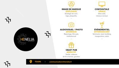 Site internet de Henelia