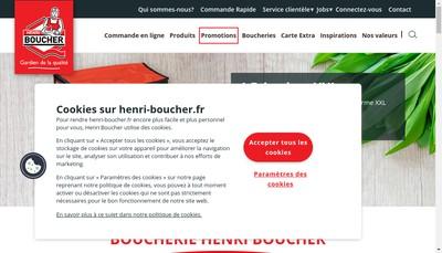 Site internet de Henri Boucher