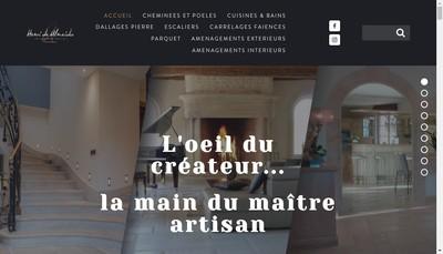 Site internet de Henri de Almeida Creations
