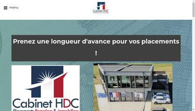 Site internet de Henri Drogue Conseil