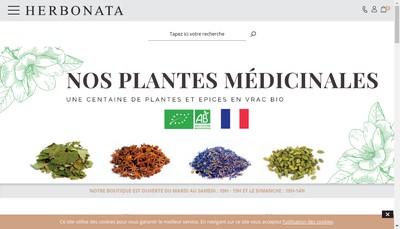 Site internet de Herbonata