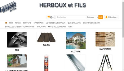 Site internet de Etablissements Herboux et Fils