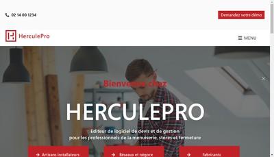 Site internet de Herculepro