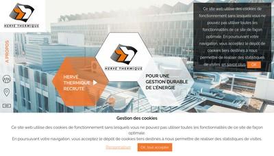 Site internet de Herve Thermique