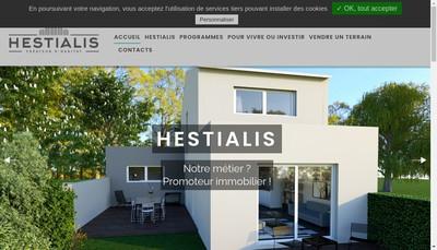 Site internet de Hestialis