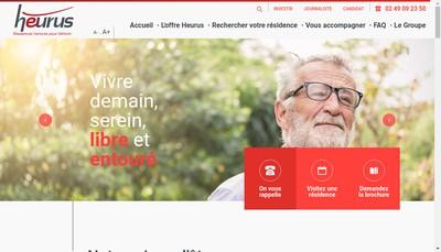 Site internet de Steredenn By Heurus
