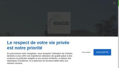 Site internet de Clotures Guillaumie et Gaut