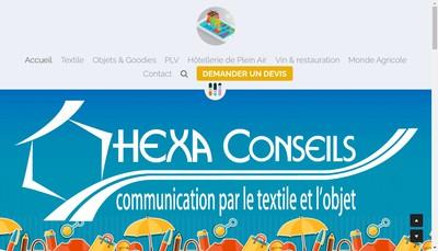 Site internet de Hexa-Conseils