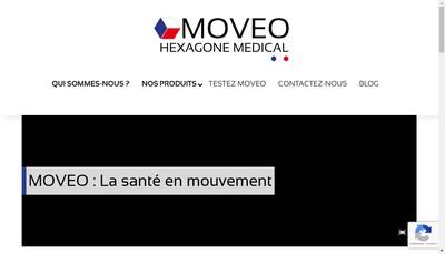 Site internet de Hexagone Medical