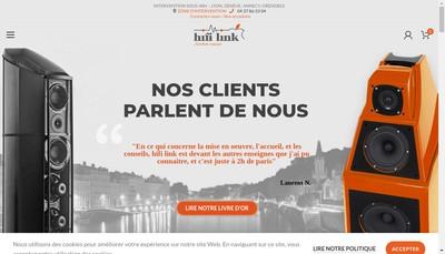 Site internet de Hifi Link