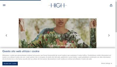 Site internet de High