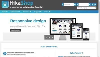 Site internet de Hikari Software
