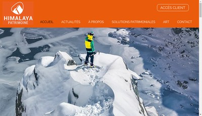 Site internet de Himalaya Patrimoine
