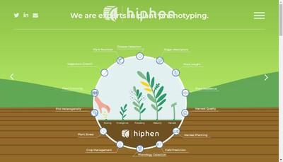 Site internet de Hiphen