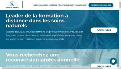 Site internet de Hippocratus