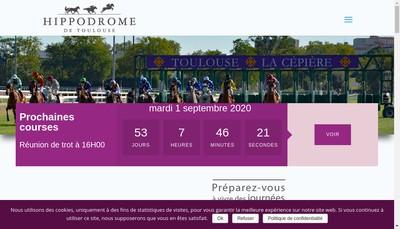 Site internet de Hippodrome de Toulouse