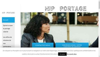 Site internet de Hip Portage