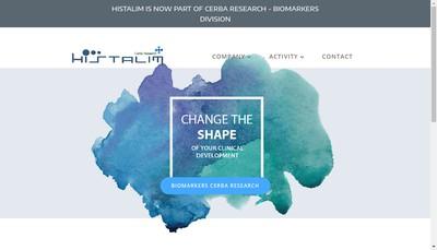 Site internet de Histalim