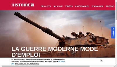 Site internet de Histoire