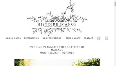 Site internet de Histoire d'Ange
