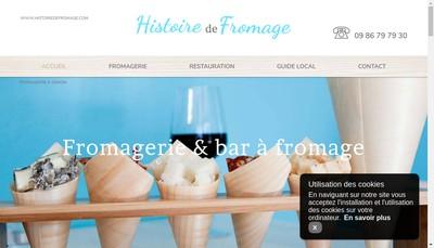 Site internet de Histoire de Fromage