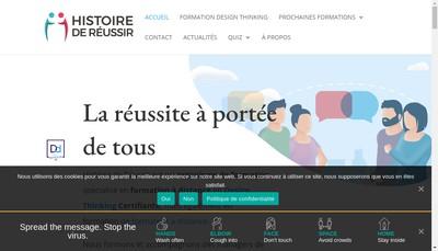 Site internet de Histoire de Reussir