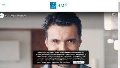 Site internet de Hmy Group