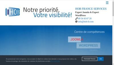 Site internet de Hob France Services