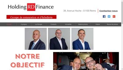 Site internet de Holding Rd Finance