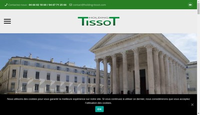 Site internet de Tissot Promotion