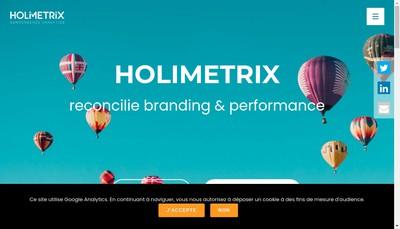 Site internet de Holimetrix