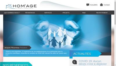 Site internet de Hom'Age