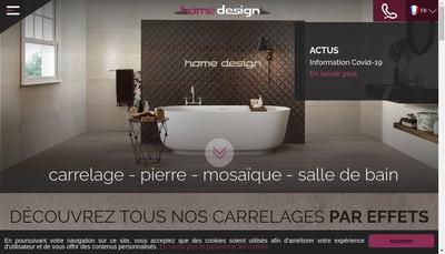 Site internet de Home Design