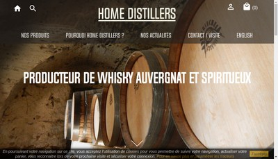 Site internet de Distillerie des Bughes