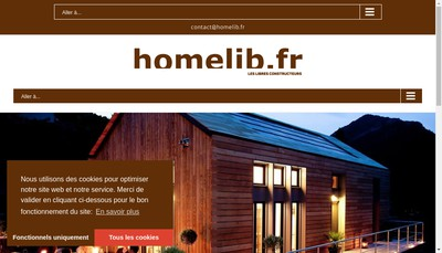 Site internet de Homelib