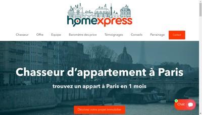 Site internet de Homexpress