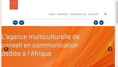 Site internet de Hopscotch Africa