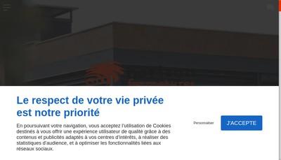 Site internet de Horizon Fermetures
