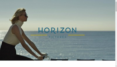 Site internet de Horizon Pictures