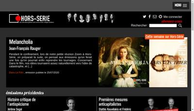 Site internet de Hors Serie