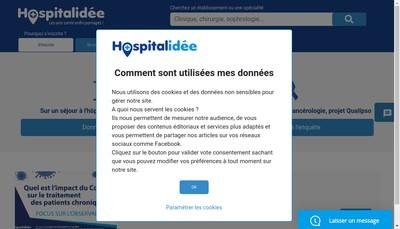 Site internet de Hospitalidee