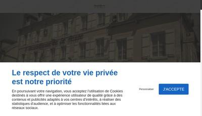 Site internet de Hotel de la Poste