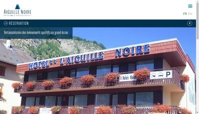 Site internet de L'Aiguille Noire