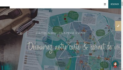 Site internet de Hotel Albert 1Er