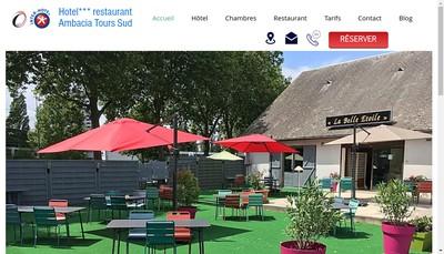 Site internet de Comfort Hotel la Belle Etoile