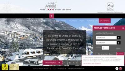 Site internet de Amelie